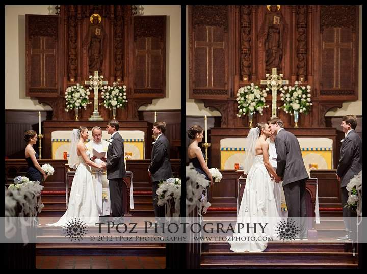 St. Annes's Church Annapolis Wedding