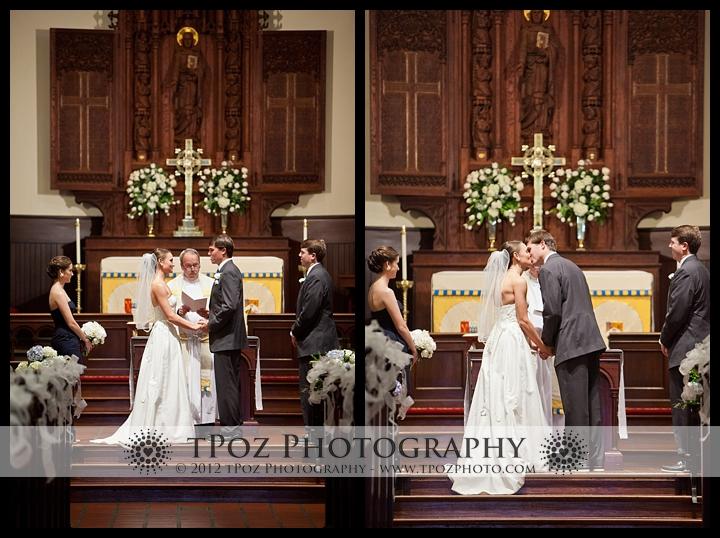 St. Annes's Church Annapolis Wedding