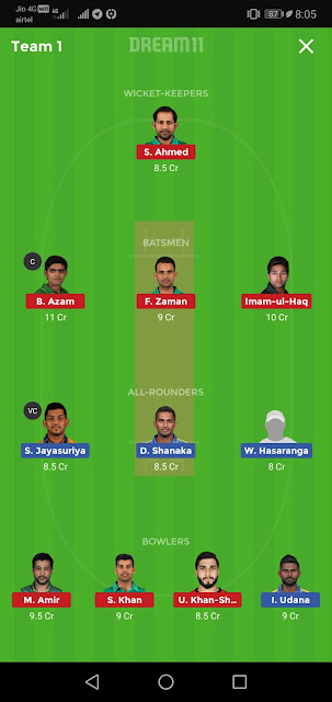 SL vs PAK Dream11 Match Prediction | 3rd ODI | Sri Lanka Tour of Pakistan | Playing11, Fantasy Team, News and Dream11 Team,