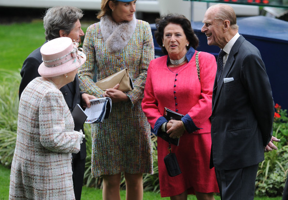 Queen Elizabeth , Prince Philip and Princess Beatrice attended the British Champions Day