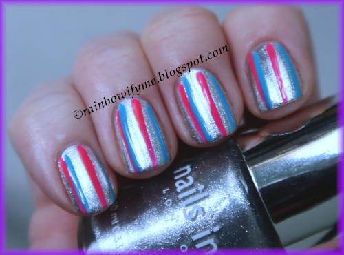 Nails Inc.: Cambridge Terrace; W7: It's Pink; Bourjois: Succés Azuré