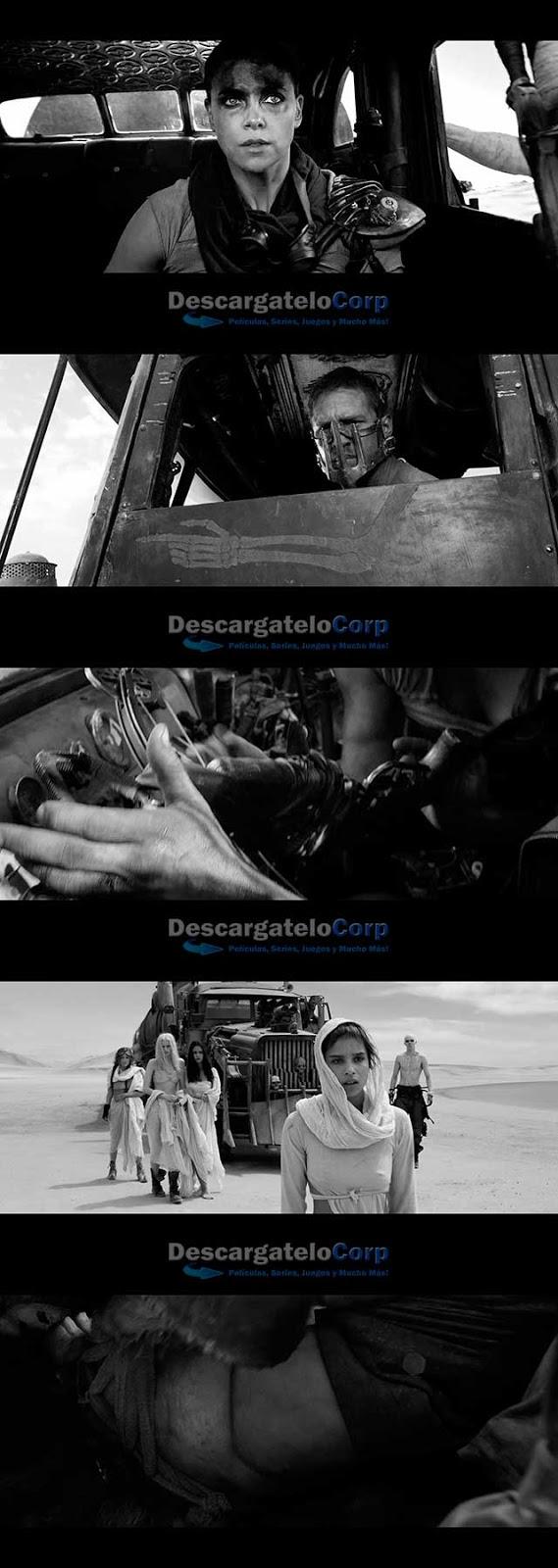 Mad Max Furia en el camino Black-Chrome (2015) HD 1080p Latino