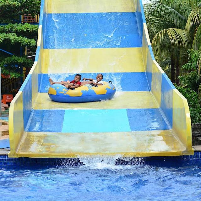 Wahana di Wonderland Adventure Waterpark