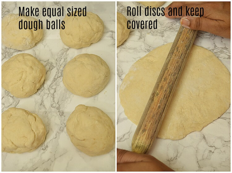 homemade pita bread recipe steps