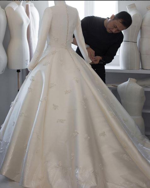 Vestido de noiva da Dior