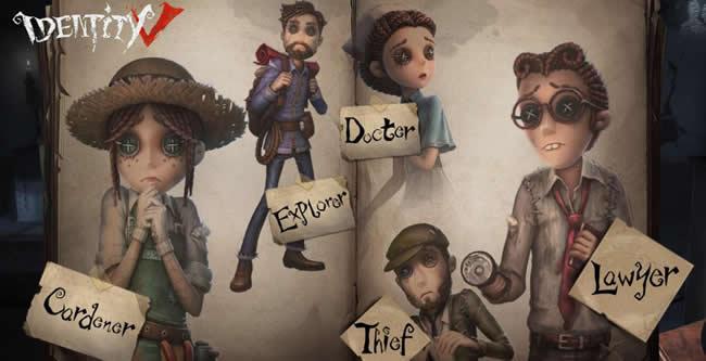 Identity V Personajes