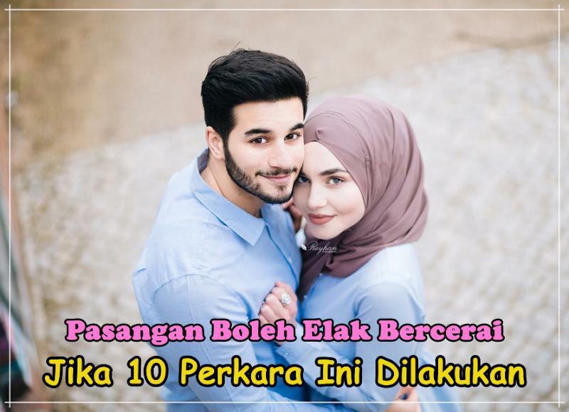 Pasangan Boleh Elak Bercerai Jika 10 Perkara Ini Dilakukan (Oh Ini Rupanya Tips Bahagia)