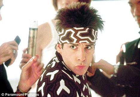 Ben Stiller as Derek Zoolander - disciplining boys