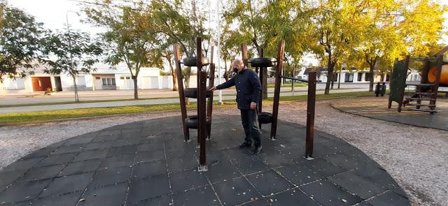 El Intendente sigue recorriendo los distintos espacios públicos de la ciudad