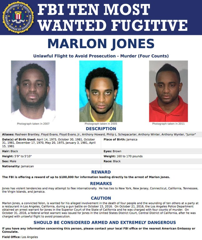 Paul Davis On Crime: FBI\'s New Top Ten Most Wanted Fugitive: Marlon ...