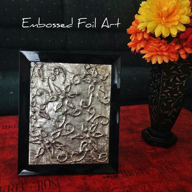Foil wall art