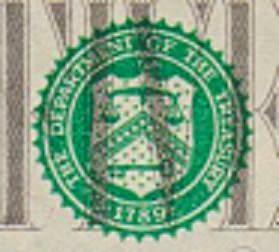 весы и ключ - знаки доллара