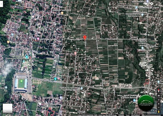 Tanah dekat RS UAD Wedomartani