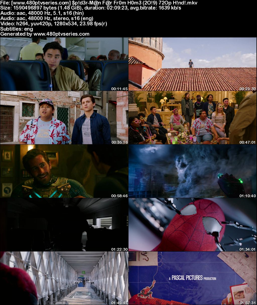 Download Spider-Man: Far from Home (2019) 1GB Full Hindi Dual Audio Movie Download 720p Bluray Free Watch Online Full Movie Download Worldfree4u 9xmovies