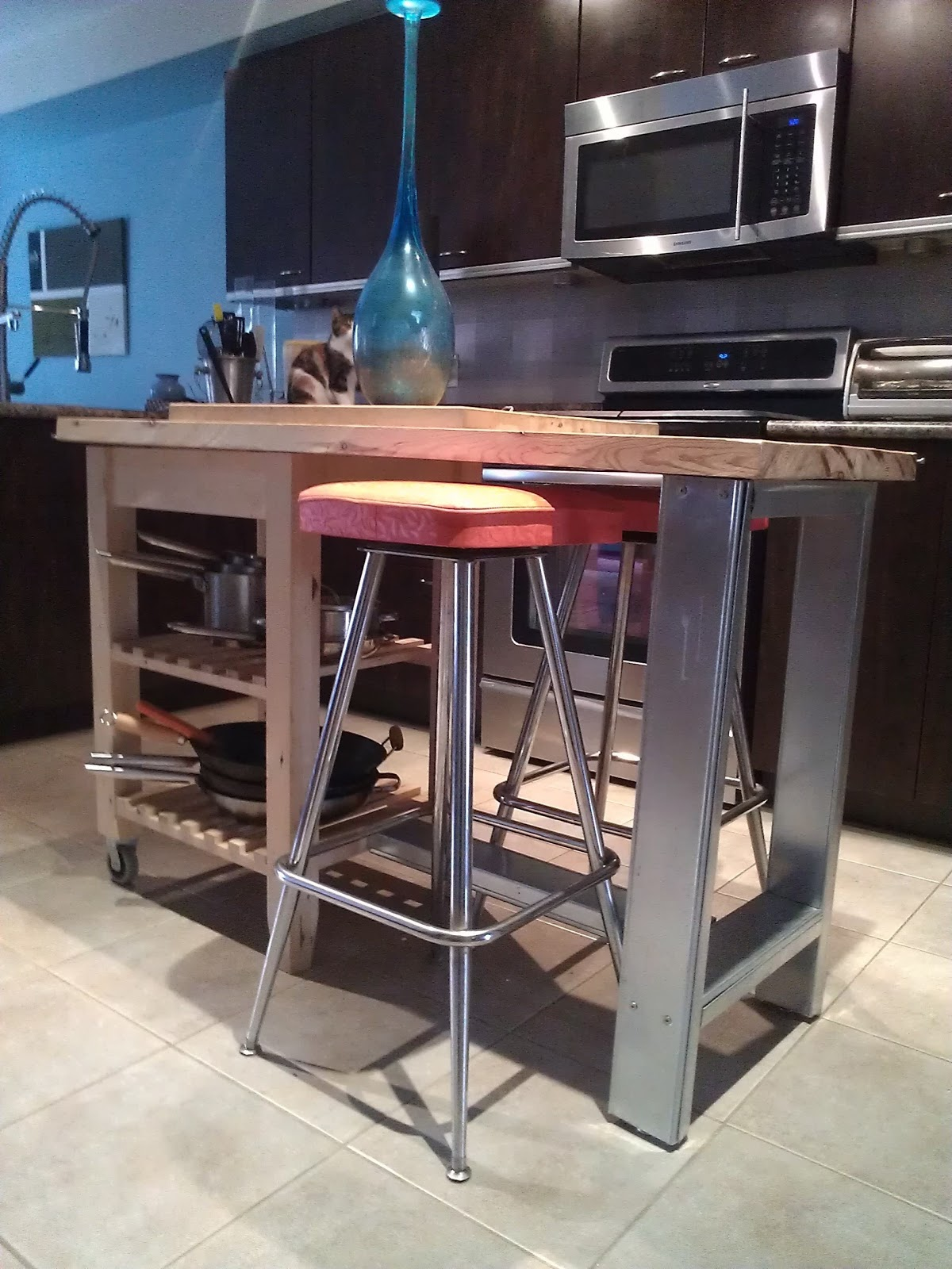 Kitchen island ikea hackers. malm meets numerar kitchen island ...