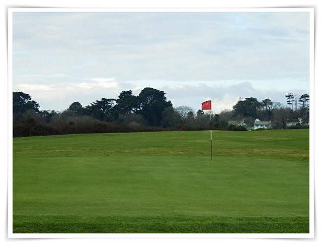 Carlyon Bay, Cornwall golf green