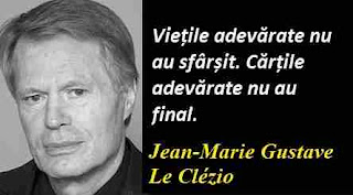 Maxima zilei: 13 aprilie - Jean-Marie Gustave Le Clézio