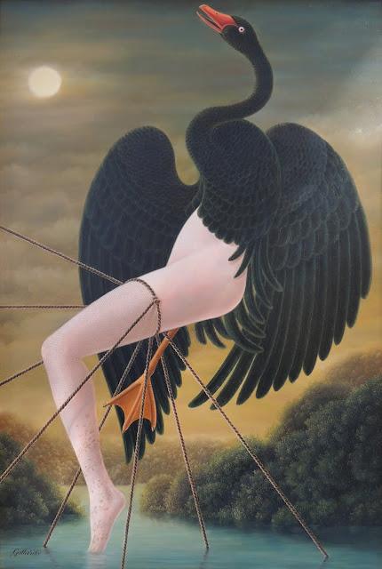 Gervasio Gallardo pintura surrealismo