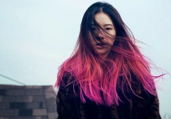 trend gaya rambut wanita model ombrey terbaru 2017