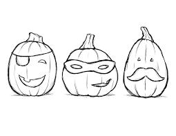 Pumpkin Coloring Pages 10
