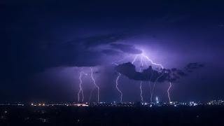 Lightning over city - Photo by Svitlana Koshelieva on Unsplash