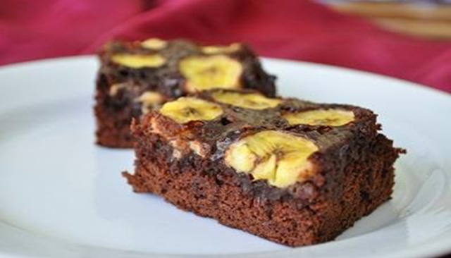 Brownies Pisang Kukus
