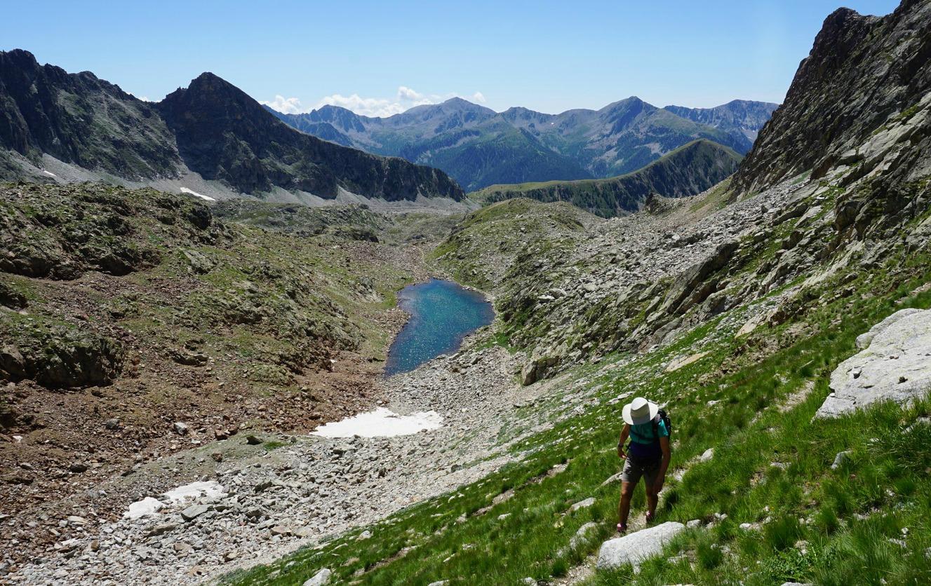 Continuing towards Pas du Loup Isola2000