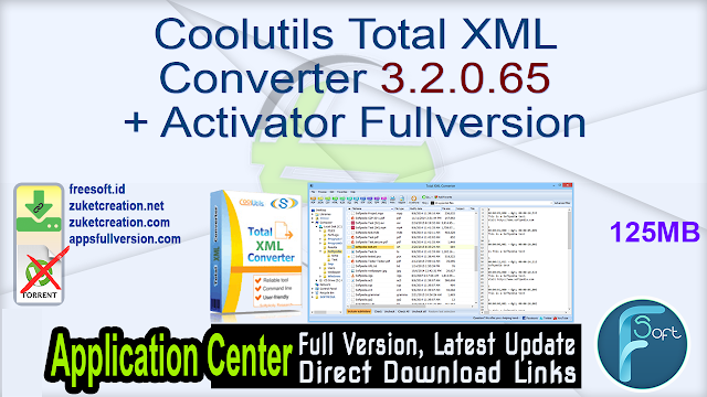 Coolutils Total XML Converter 3.2.0.65 + Activator Fullversion
