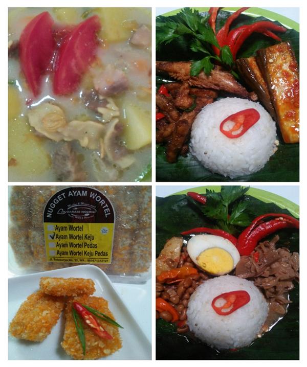 Nugget Ayam Wortel di GARASI NoeRie Margahayu Raya Bandung