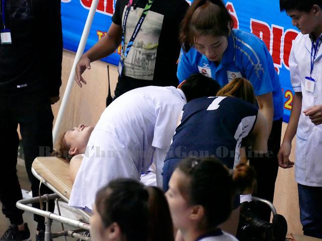 Nổi lo vị trí chuyền hai ở ĐTQG sau chấn thương của Linh Chi!
