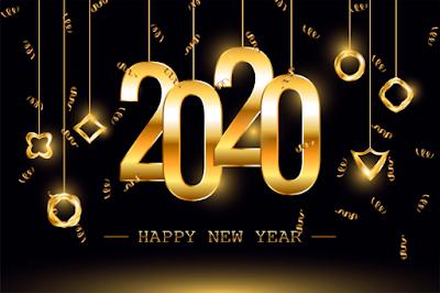 Advance Happy New Year 2020 Wallpaper