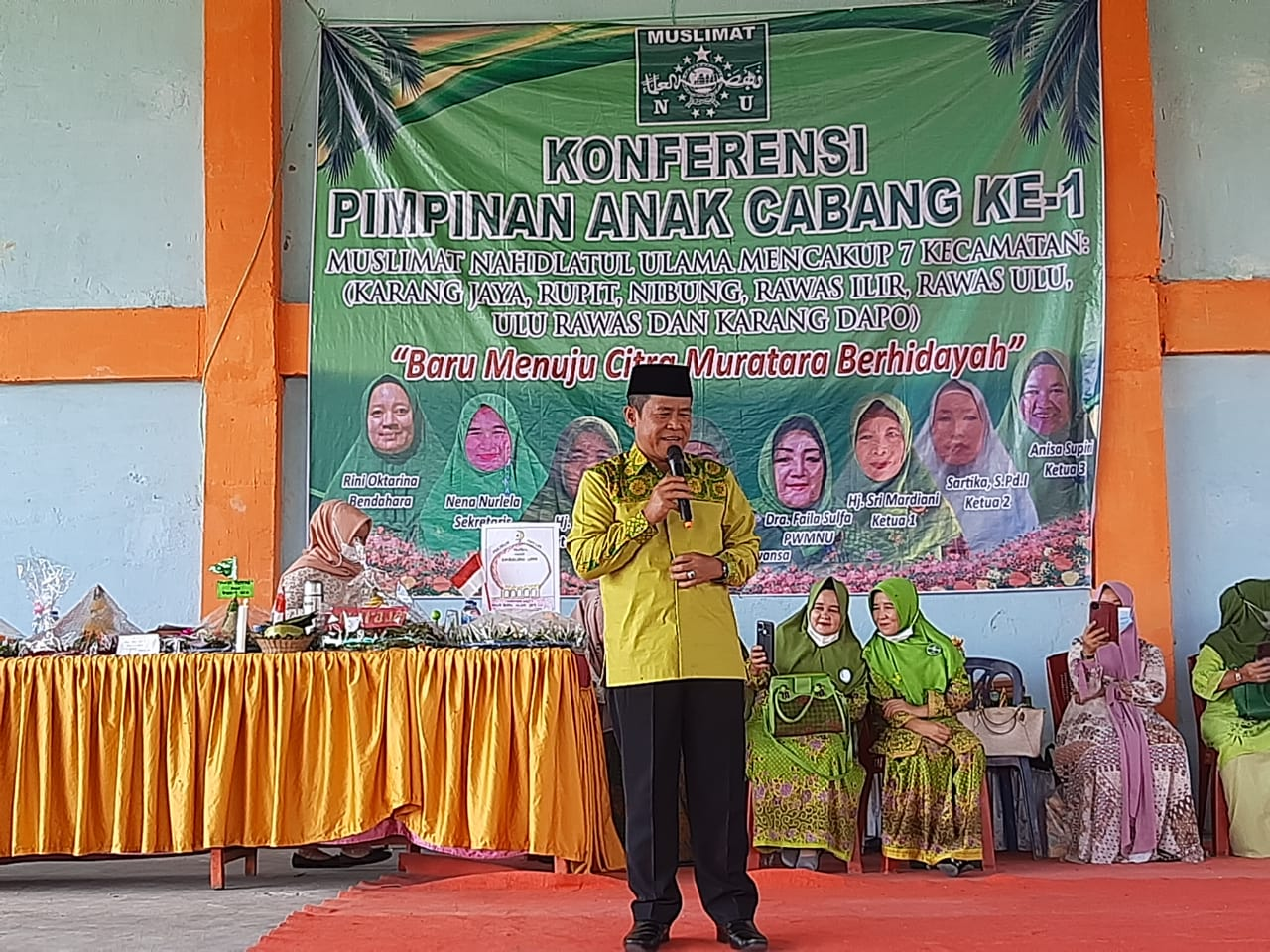 Hadir Pengajian Muslimat NU, Wabup Muratara : NU Benteng NKRI