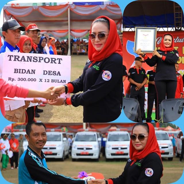 Peringati Hari Kesehatan Nasional ke-55, Tahun 2019 Bupati TUBA Raih Rekor Indonesia (MURI)