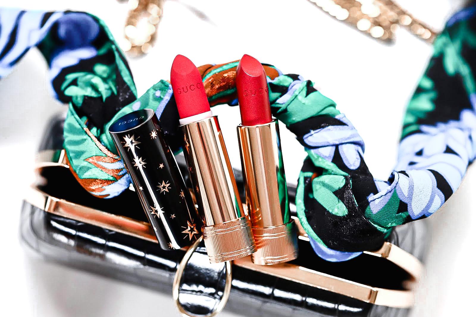 Gucci Rouge A Lèvres test