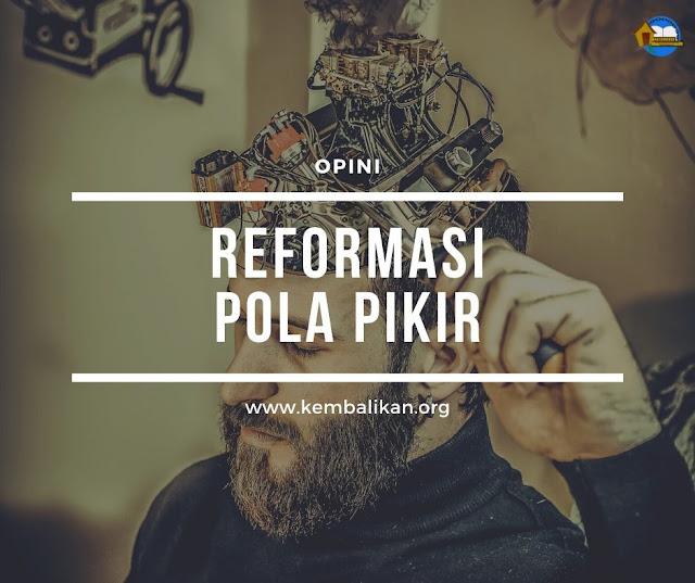 reformasi pola pikir