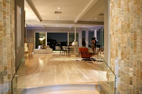 Villa de lujo en los angeles - Casas minimalistas por dentro ...