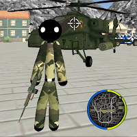 US Army Stickman Rope Hero counter OffRoad Mod Apk
