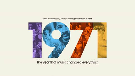 """Apple TV+  """"1971: The Year That Music Changed Everything"""""""