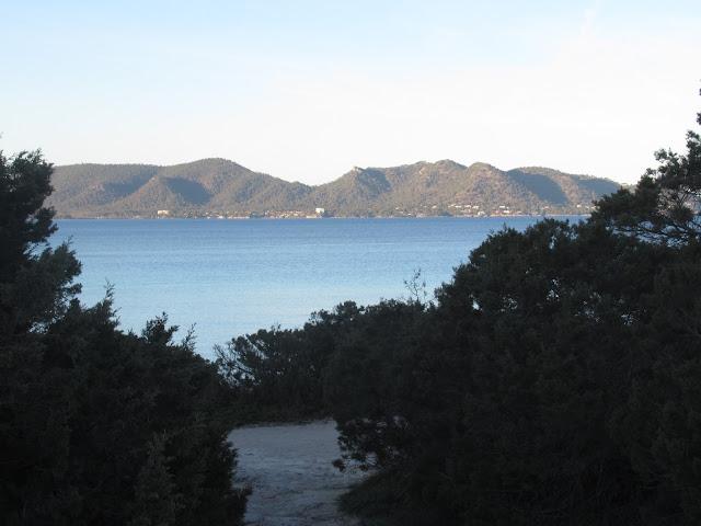 die Halbinsel Punta de n'Amer auf der Baleareninsel Mallorca