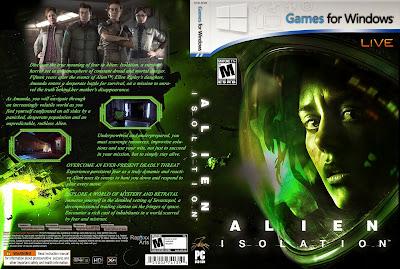 Jogo Alien Isolation PC Dublado DVD Capa