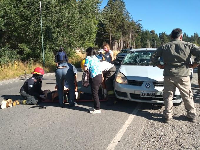 Accidente en El Bolsón