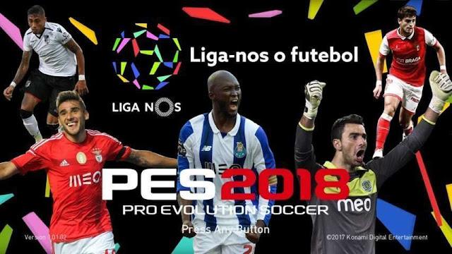 Liga NOS Start Screen PES 2018