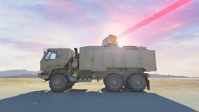 El Ejército de EE.UU. contrata varias empresas para integrar un potente arma láser con un camión