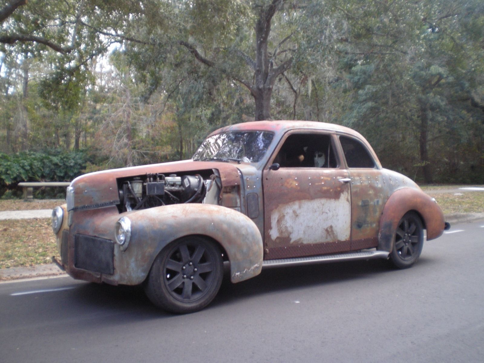 The Next Owner Will Need To Decide Whether To Keep The Rat Rod Concept  Going Or Repaint. We Think It Should Probably Stay This Way, ...