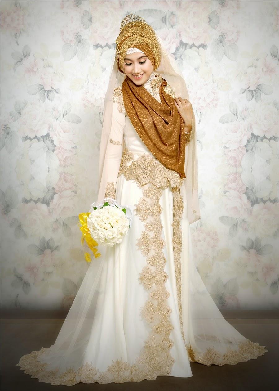 Gaun Pengantin Muslimah Paling Elegan Kumpulan Model