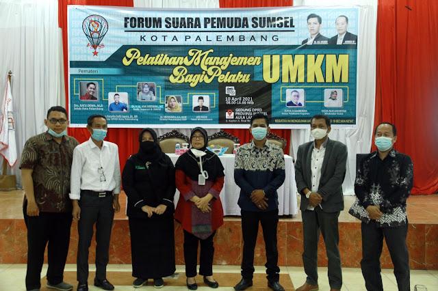 FSPSS Kota Palembang Gelar Pelatihan Managemen UMKM