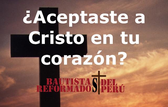 ¿Aceptaste a Cristo en tu corazón? – Miguel Rodriguez