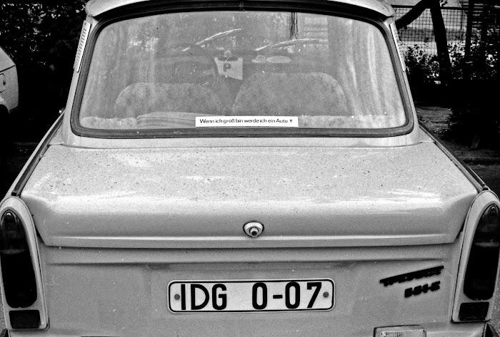 Berlin, Trabant, © L. Gigout, 1990