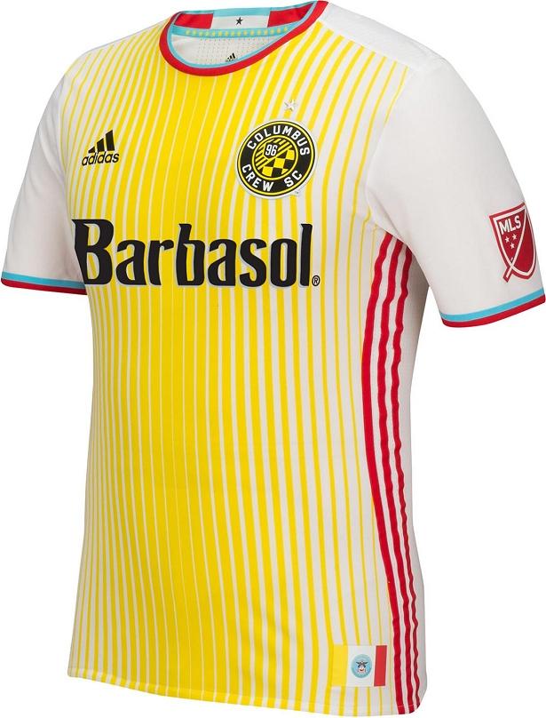 f336c2261dbac Adidas lança camisa reserva do Columbus Crew para a MLS 2016 - Show ...