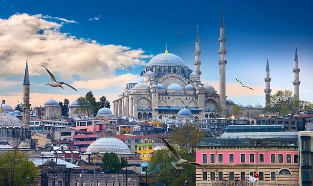 مدينة اسطنبول تركيا
